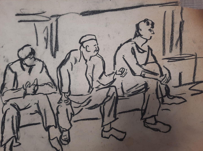 40 непоказвани скици и рисунки на емблематичния Георги Баев очакват своята публика в Бургас