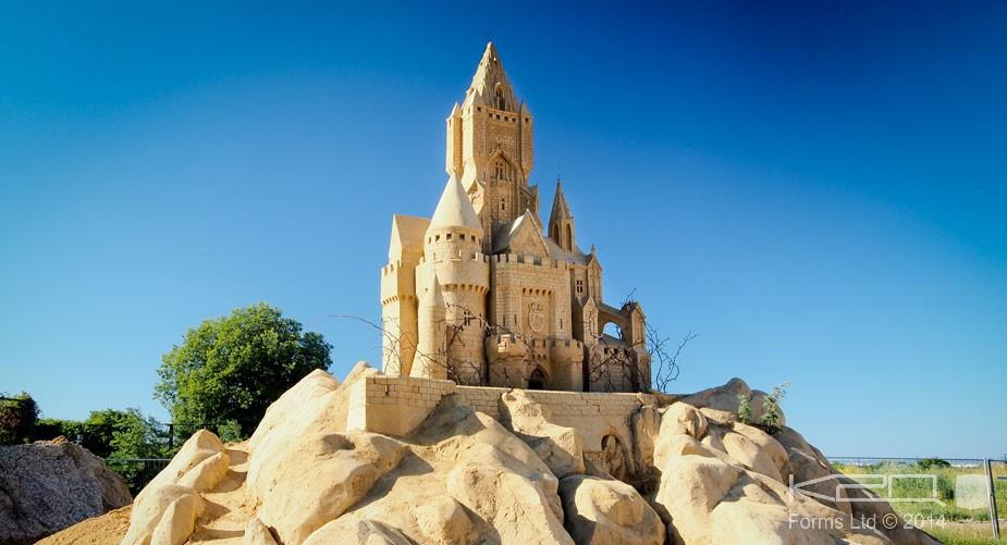 Festival of sand sculptures