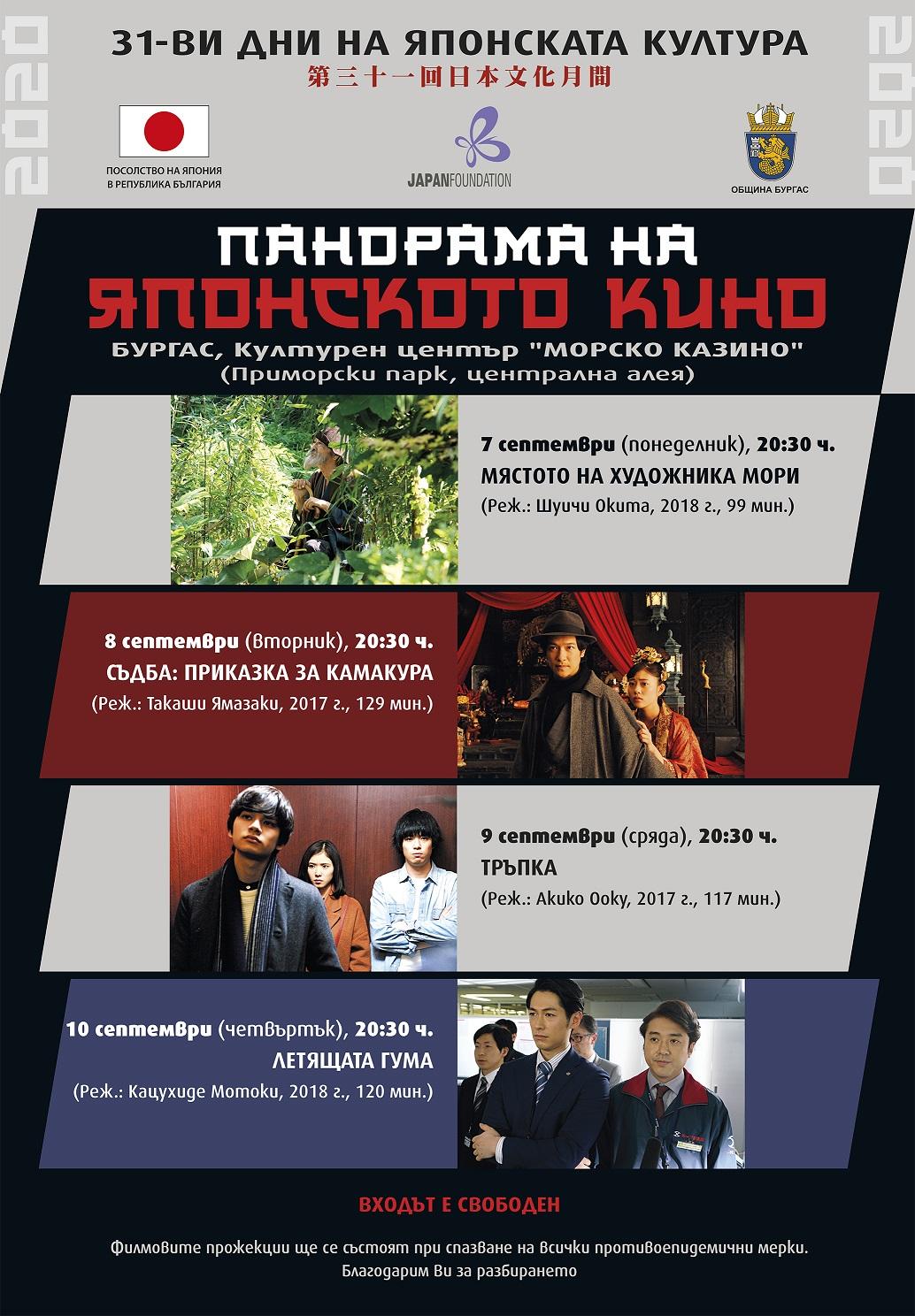 Panorama of Japanese cinema