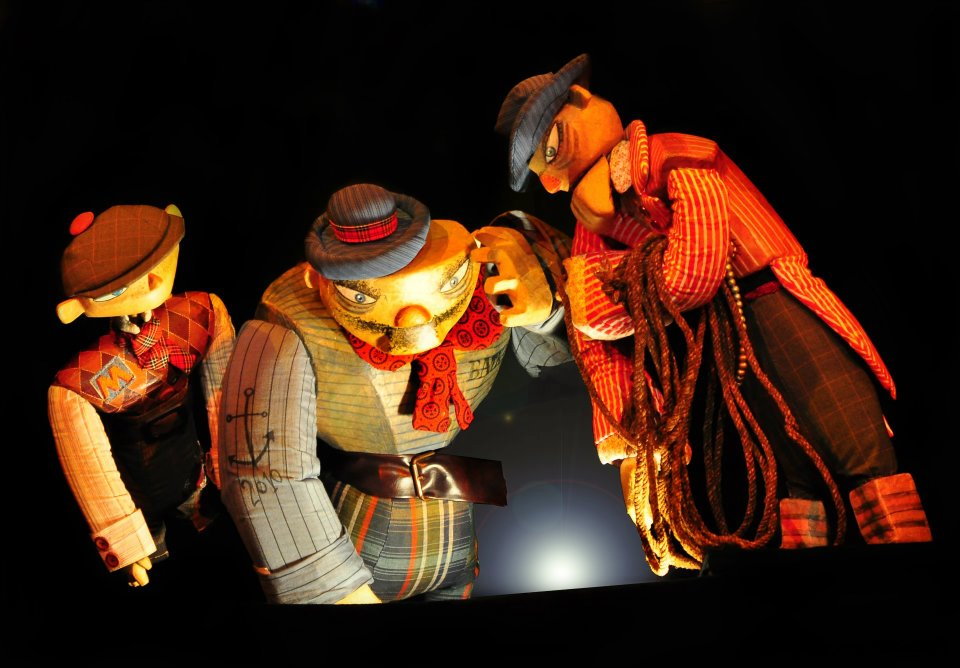 """The three brothers and the golden apple""-a puppet performance for children"