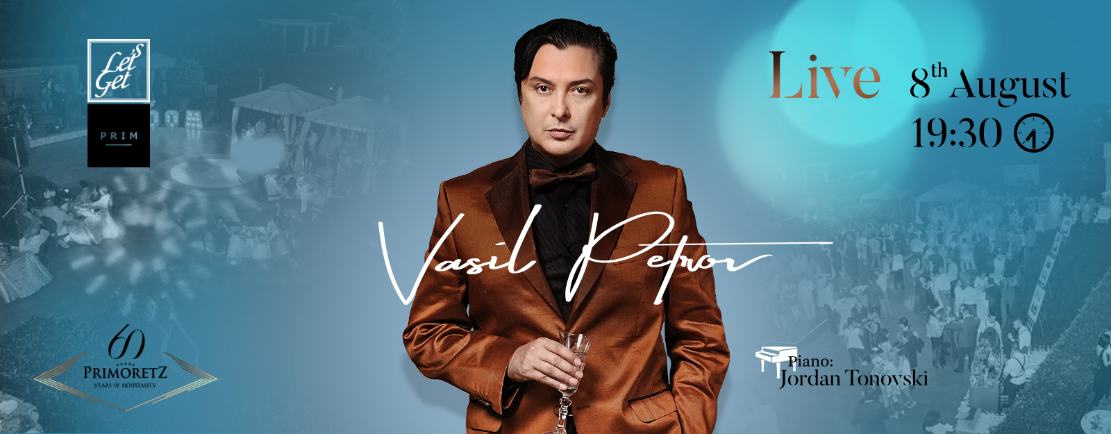Let's Get PRIM: Vasil Petrov Live