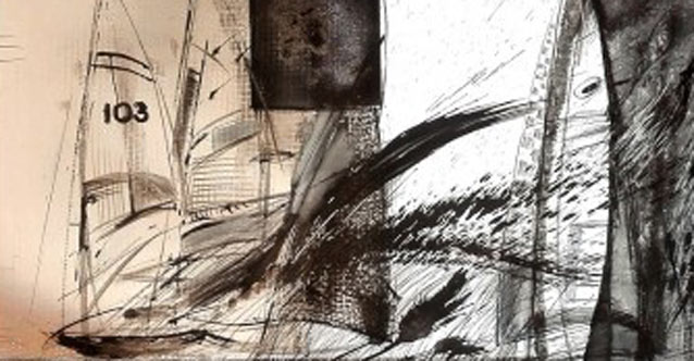 Изложба живопис на Радостин Дамасков