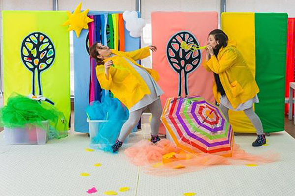 """Rainbow""-a performance for babies"