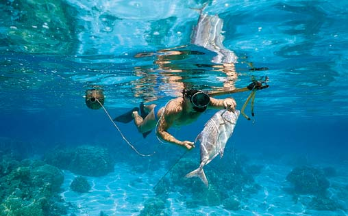 """the best in underwater fishing will compete for cup """"gencho pavlov, Reel Combo"""
