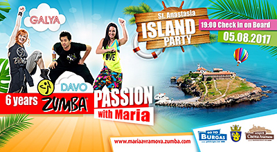 Zumba dancers conquer Saint Anastasia Island on the 5th of August